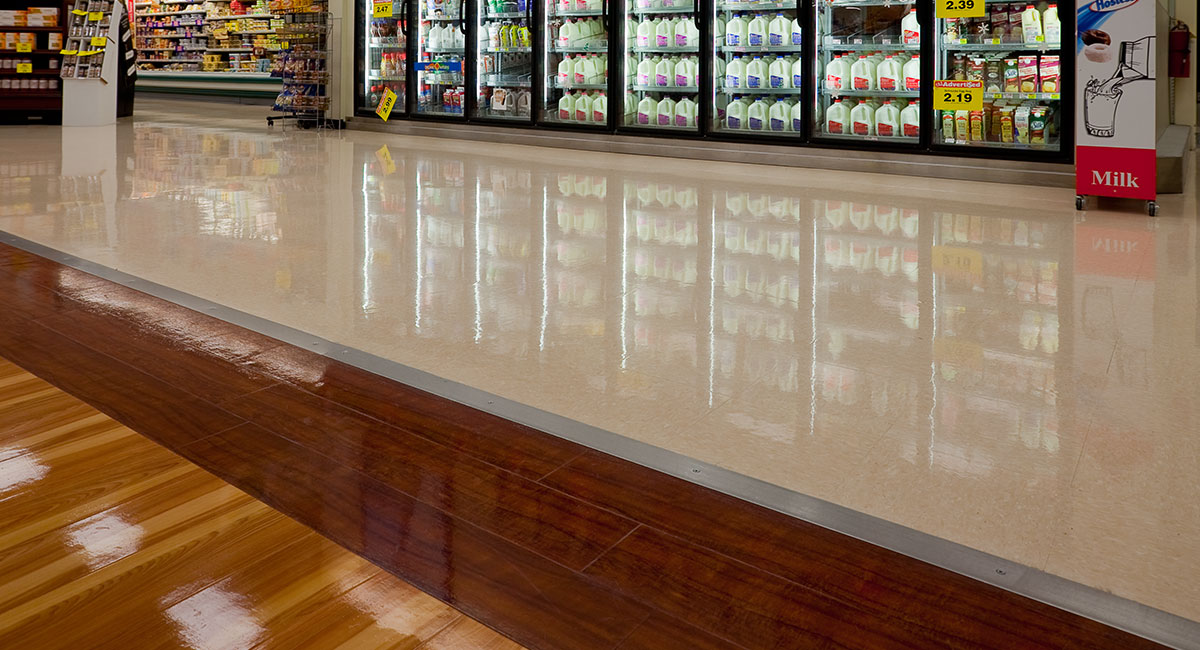 Buckeye Clarion 25 Floor Finish Grocery Demonstration