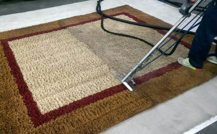 Cleaning Winter Residue From Carpet Removing Alkaline Salt Residue