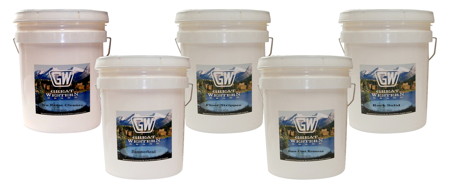 Great Western Supply brand floor products
