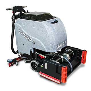 Tomcat Floor Scrubbers sold at Great Western Supply in Davenport, Iowa