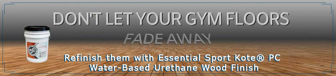 Refinish Gym Floors - Don't Let Them Fade Away