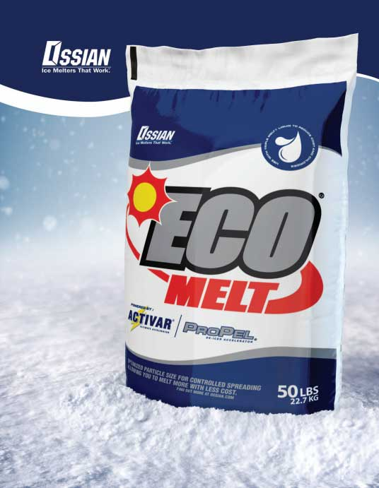 Eco Melt Ossian Ice Melt available at Great Western Supply